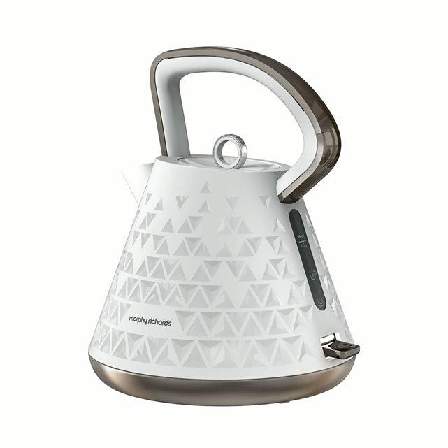 Bouilloire électrique sans fil prism 108102 Blanc Morphy Richards