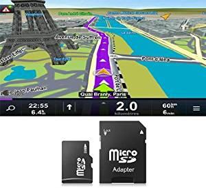 Carte MicroSD/SD 4Go GPS Sygic pour autoradios Europe de l'Ouest