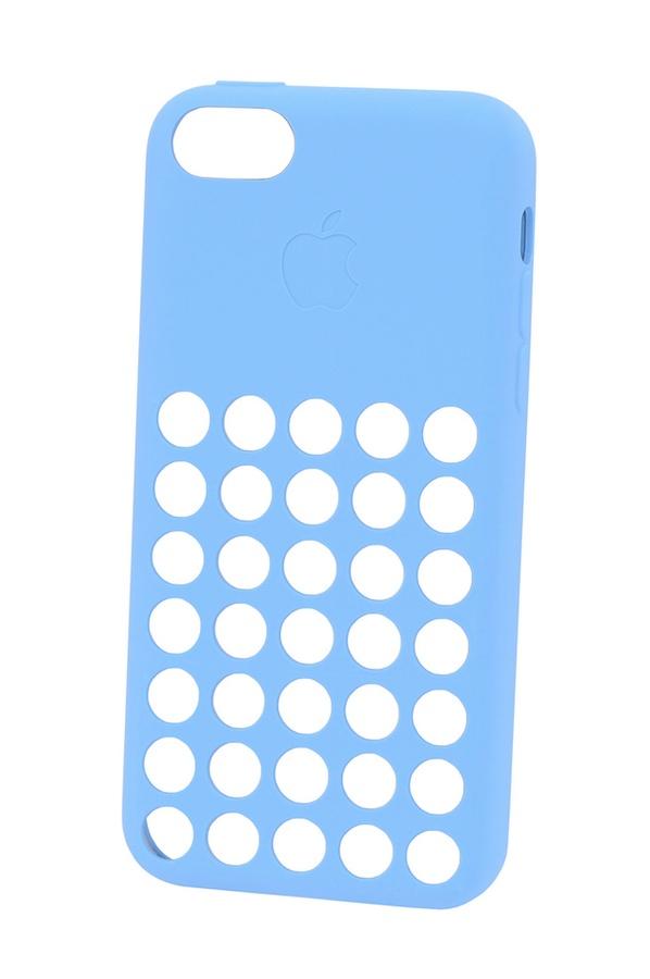 Housse pour iPhone Apple COQUE IPHONE 5C BLEU (1400711)