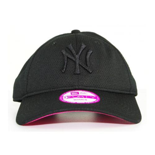 New Era Cap Casquette Femme New Era Strapback New York Yankees Noir