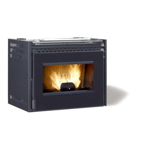 Insert à pellets Autonome EXTRAFLAMME Confort mini crystal, 7 kW