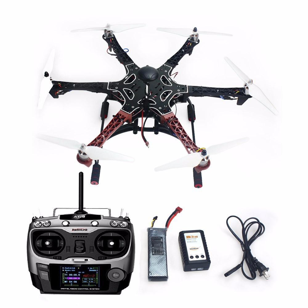 F05114 AS DIY Drone F550 6 Aix RTF Full Kit APM Controller GPS Compass