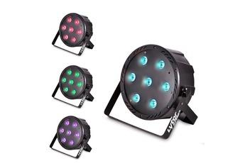 Autres jeux de lumière Projecteur SLIMPAR70 ultra plat 7 LEDs (4en1
