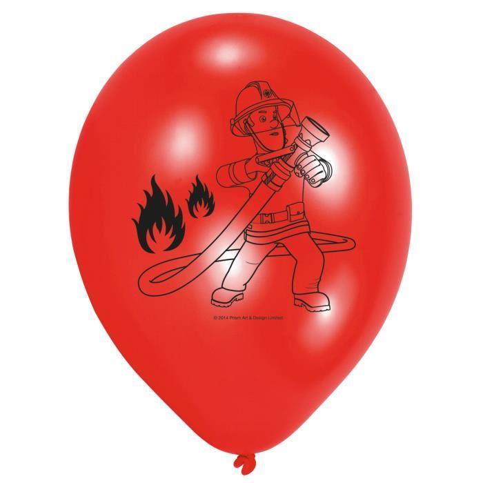 Ballons latex Sam le pompier Achat / Vente ballon décoratif
