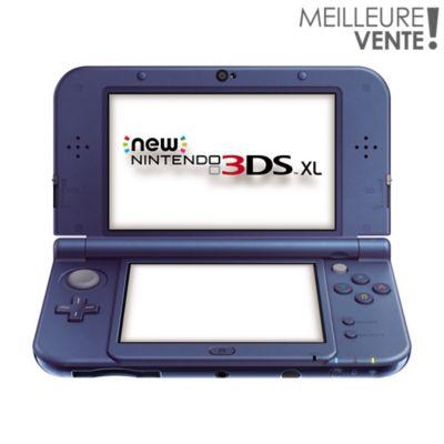 Console New 3DS XL Nintendo New 3DS XL Bleu Métallique