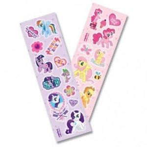 My Little Pony 8pc Sticker Set [Decoration] Brand New