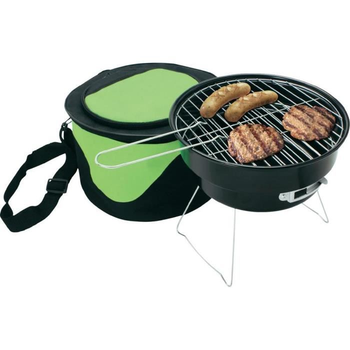 Barbecue transportable camping charbon Silva GG? Achat / Vente