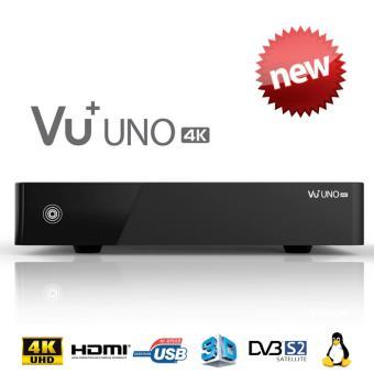 VU+ UNO 4K UHD TWIN Tuner PVR Décodeur satellite 4K Achat & prix