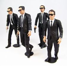 Reservoir Dogs Set de 4 Figurines articulées 17 cm Mezco