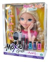 MOXIE GIRLS TÊTE A COIFFER MAGIC HAIR AVERY PACK