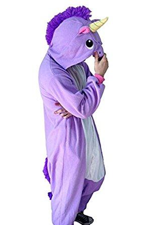 Pyjama Kigurumi Licorne Violette 2750PP: Vêtements et