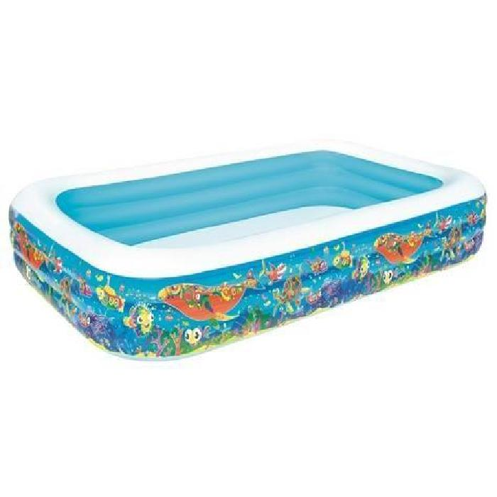Piscine Autoportante Rectangulaire Deluxe Poissons 305 x 183 x