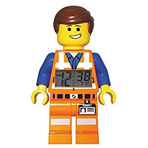 LEGO Movie Emmet 9009945 Réveil Mixte Quartz Digital Cadran