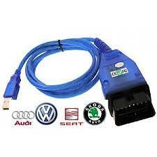 VAG KKL 409 1 OBD 2 USB Car Diagnostic Cable Interface Tool for AUDI