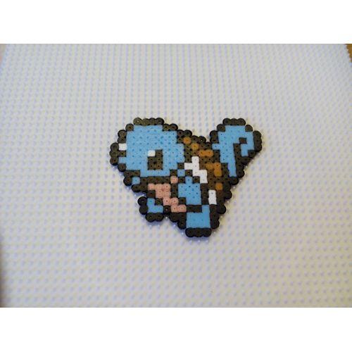 Description:Pixel art de Pokemon représentant Carapuce, pour d'autre