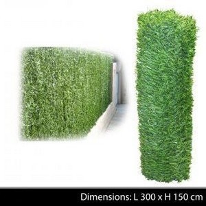 HAIE VEGETALE DE JARDIN CLOTURE DE SEPARATION OU BRISE VUE GRILLAGE