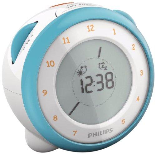Philips AJ3231 Radio réveil Double Alarme Tuner analogique Façade