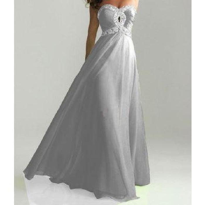 gris Achat / Vente robe Robe de soirée mariée cockt