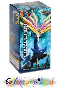 Display De 30 Boosters Pokémon XY: X Collection (XY) Coréen