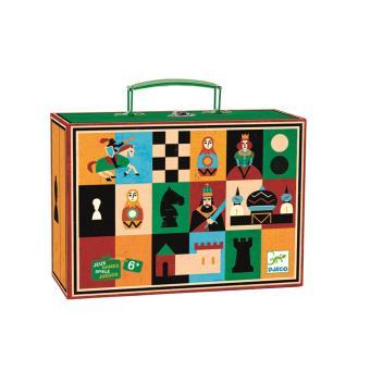 Djeco Mallette de jeux d'échecs et de dames Jeu d'échecs Achat