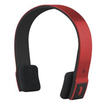 Halterrego Casque H.Ear rouge Bluetooth avec micro Casque Top prix
