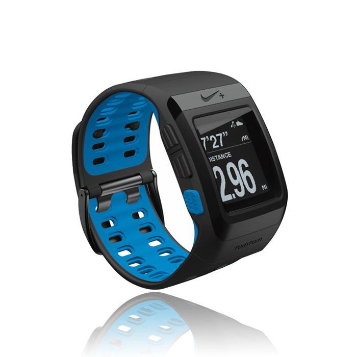 tomtom nike+ sportwatch black/blue montre gps Achat / Vente montre