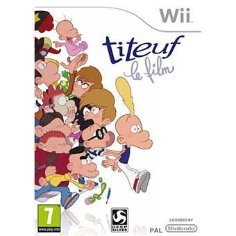 Titeuf le Film sur Nintendo Wii Jeux vidéo top prix