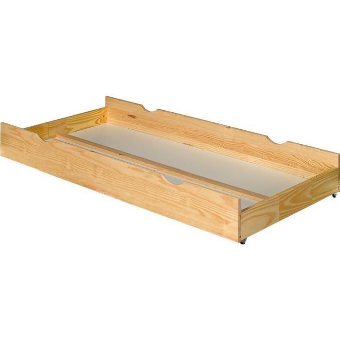 Tiroir rangement bois massif Ecrin Achat / Vente tiroir de lit