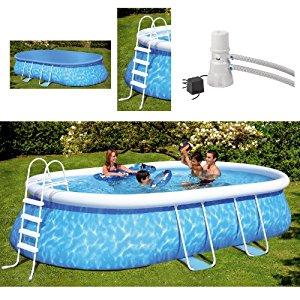 Friedola wehncke 12305 piscine autoportante ovale, kit complet 610