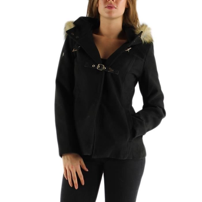 Manteau court РіВ  capuche femme