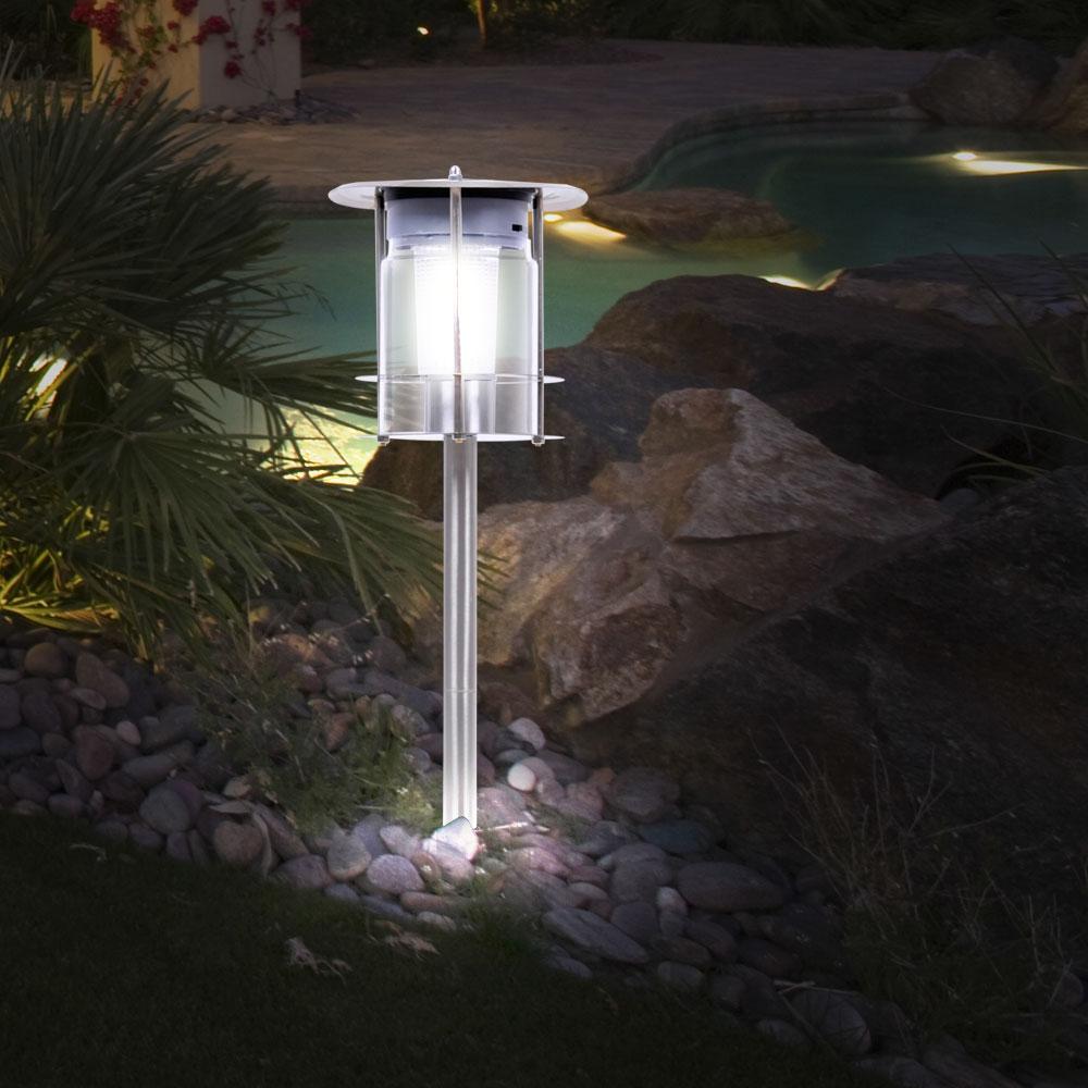 Lampadaire solaire Á LED très élégant pour l'espace extérieur
