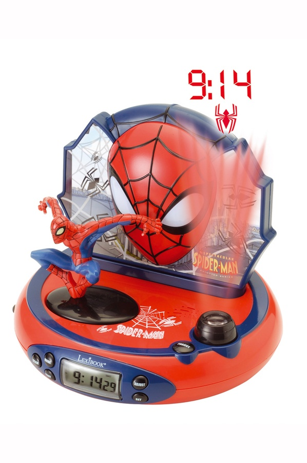 Réveil pour enfants Lexibook. RP500 Spiderman (3612147) |
