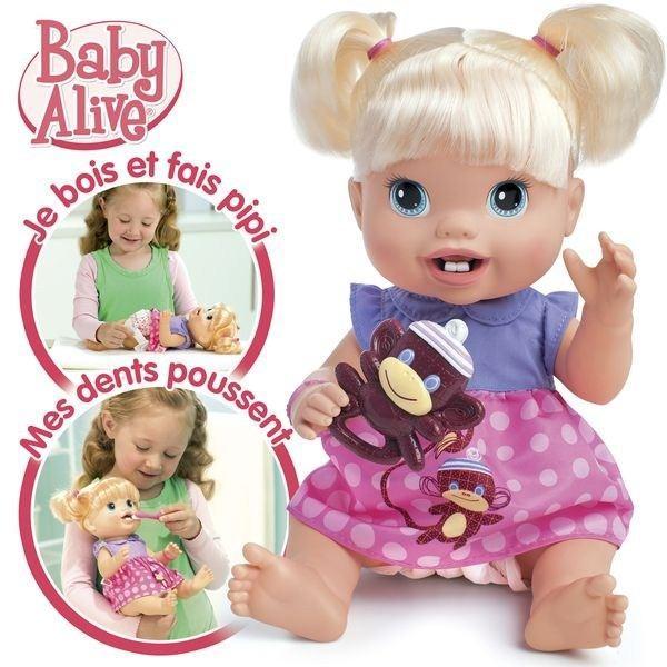 Baby Alive Bébé Quenottes craquant avec 2 dents Achat / Vente