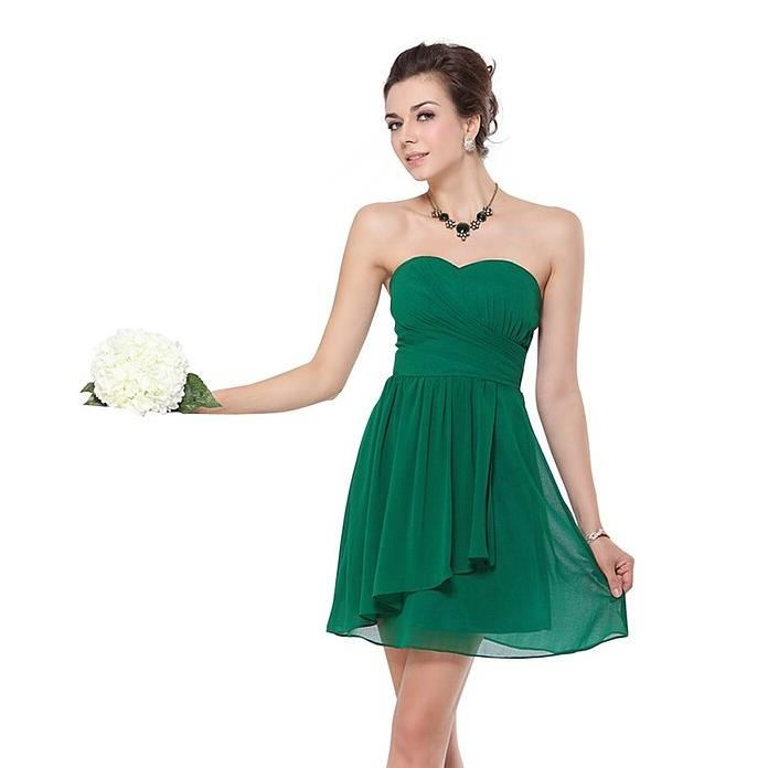 Vente robe de soiree courte