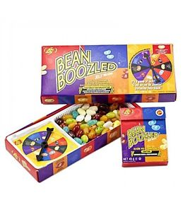 Jelly Belly Beans 3eme edition bean boozled spinner jeu boite recharge