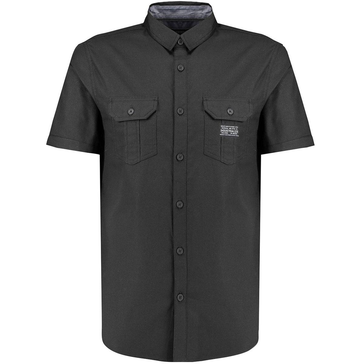 Oxford manche courte chemise Industrialize
