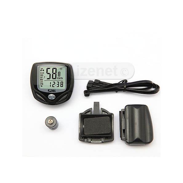 Compteur kilométrique de vitesse pour vélo 14 fonctions / Sans fil