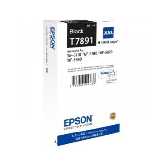 cartouches d Epson T7891 original C13T789140 Noir 4000 pages4000