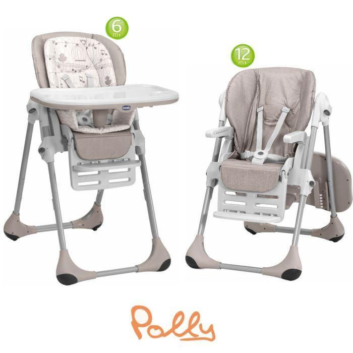 CHICCO Chaise Haute Polly 2 en 1 Chick to Chick Chick to chick Achat
