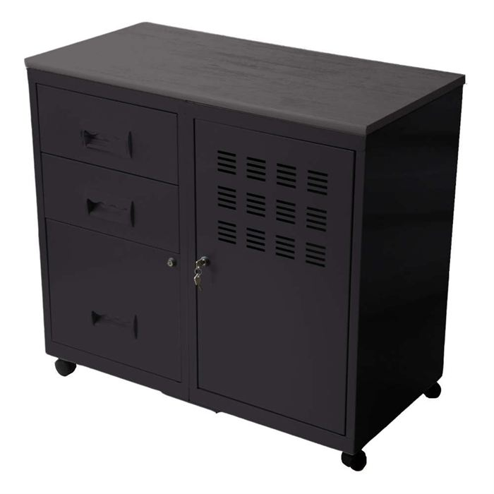 armoire de rangement metallique topiwall. Black Bedroom Furniture Sets. Home Design Ideas