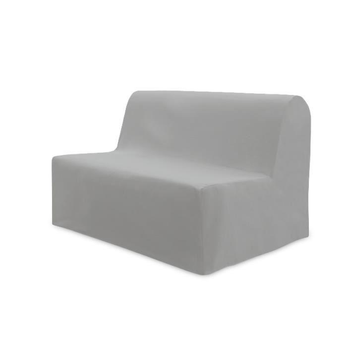 Housse de BZ en coton PANAMA gris clair. Housse de BZ en coton