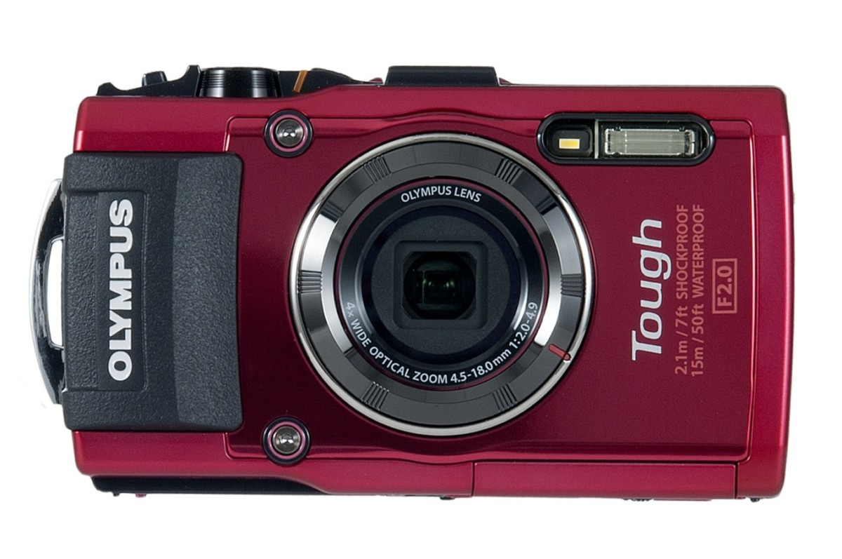 Appareil photo compact Olympus STYLUS TG 4 ROUGE (4125894) |