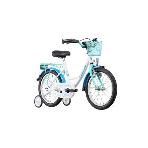 Vermont Vélo Enfant Girly Vélo enfant 16 pouces bleu pas