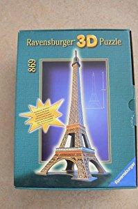 Ravensburger 3D Puzzle 698: TOUR EIFFEL Lumineux la nuit