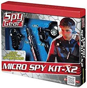 Spy Gear 70059 Micro Spy Kit X 2 Ceinture Espion X2 (Import