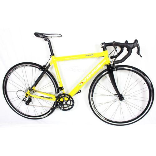 Vinci Vélo de Route Jaune Blanc Campagnolo pas cher Achat / Vente