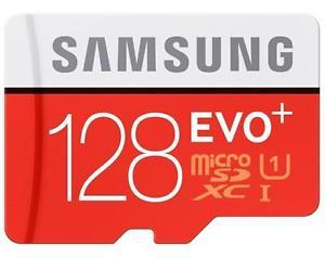 128GB Micro carte mémoire SDXC Samsung EVO+ Serie+SD Adaptateur max