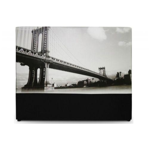 de Lit 160 cm Pont de Brooklyn pas cher Achat / Vente Têtes de lit