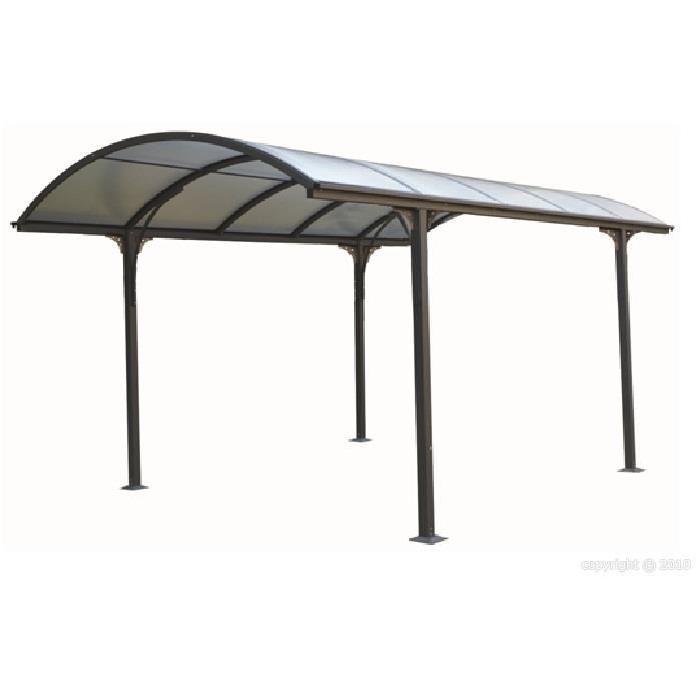 aluminium 3×4.85 m Achat / Vente carport Abri voiture en aluminium 3