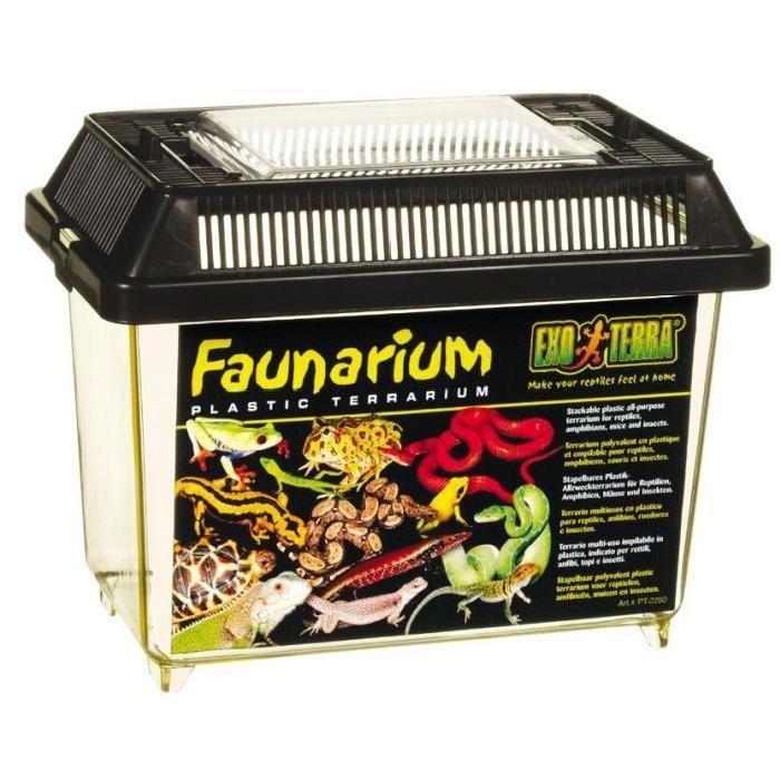 Vente vivarium terrarium Faunarium mini pour reptiles